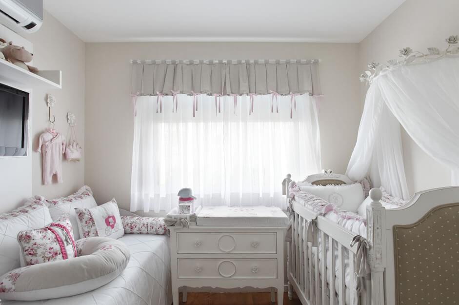 cortina moderna para quarto de criancas